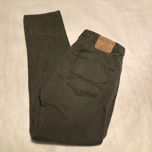 Hollister Skinny Women's Jeans Olive Size 34 x 32